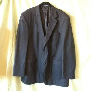 Stafford navy blue suit